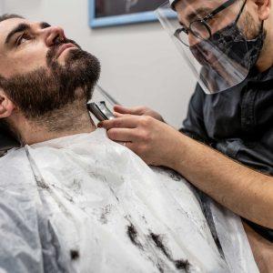 Tintura barba modellata